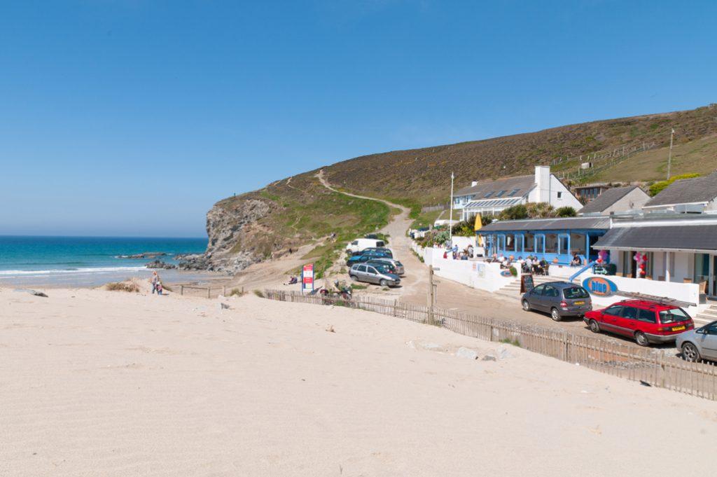 Beach bar near Porthtowan holiday cottages by Forever Cornwall