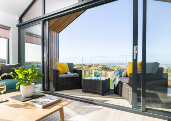 Dune Lodge luxury beach house at Gwithian from Forever Cornwall