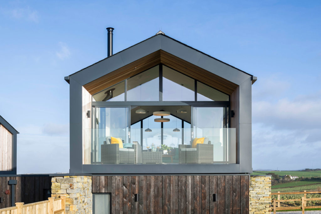 Large luxury Gwithian accommodation - Dune House & Lodge holiday cottages by Forever Cornwall