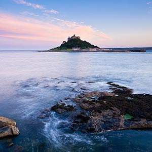 Ferienhäusern In Den Verschiedenen Küstengebieten Cornwalls Mounts Bay
