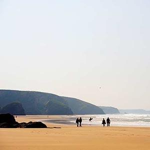 Ferienhäusern In Den Verschiedenen Küstengebieten Cornwalls North Cornwall
