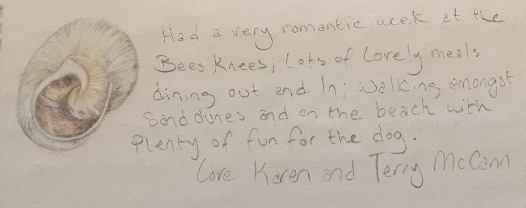Forever Cornwall Bees Knees Testimonial