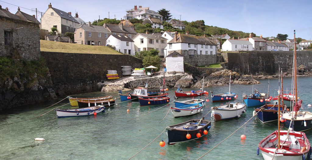Harbour near Coverack holiday cottages by Forever Cornwall