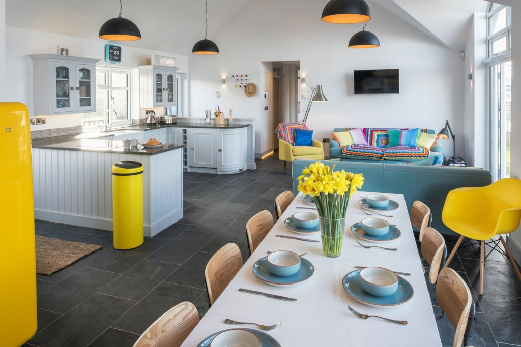 Inside large luxury beach house Gwithian - Surf Six from Forever Cornwall