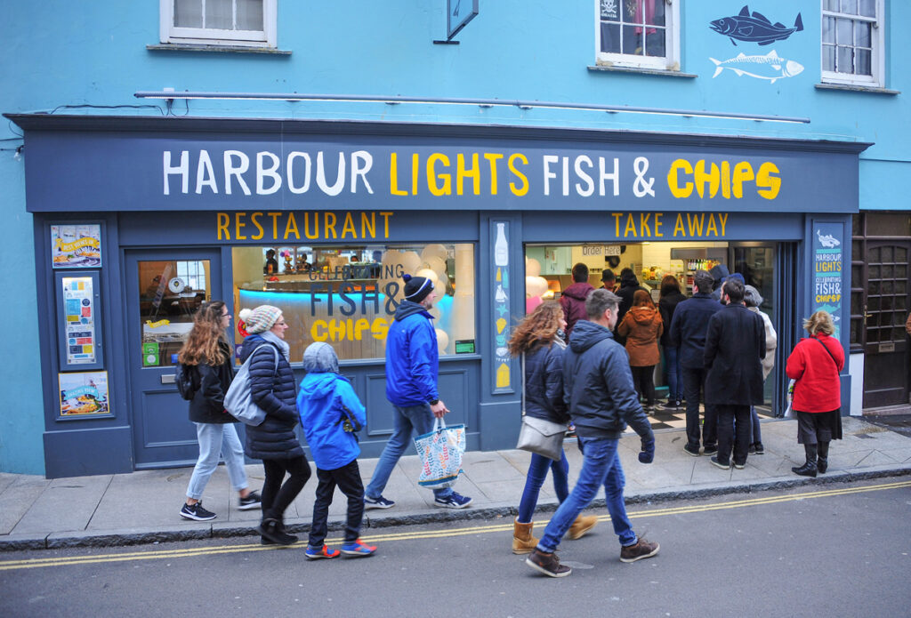 Harbour Lights, Falmouth, Forever Cornwall