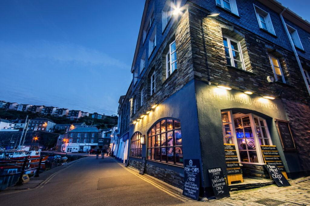 Harbour Tavern Mevagissey Cornwall