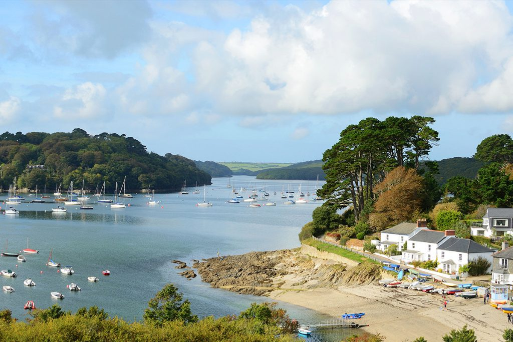 Village near Helford River cottages by Forever Cornwall