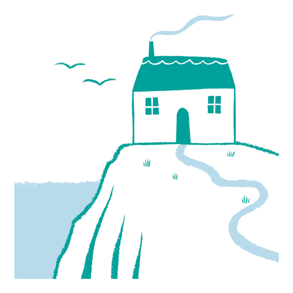 House illustration F