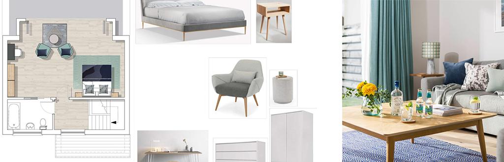 interior design moodboard forever corwnall