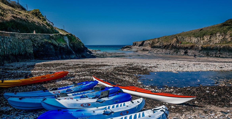Kayaks Port Gaverne