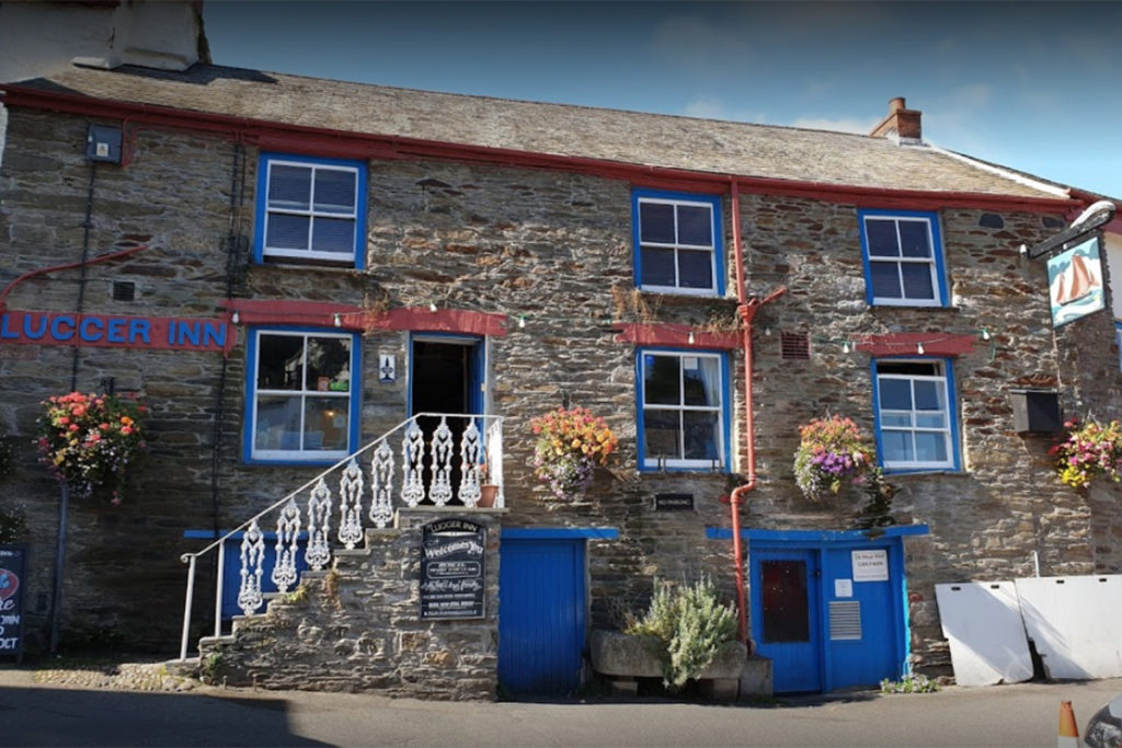 pub near Fowey River holiday cottages by Forever Cornwall