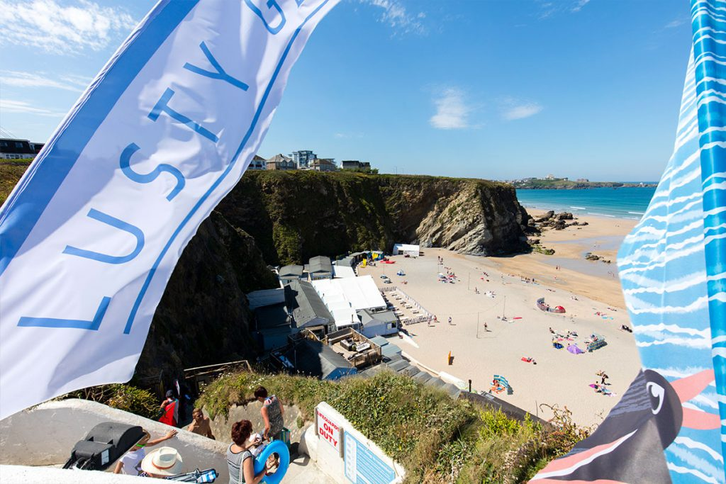 Beach near holiday accommodation in Newquay by Forever Cornwall