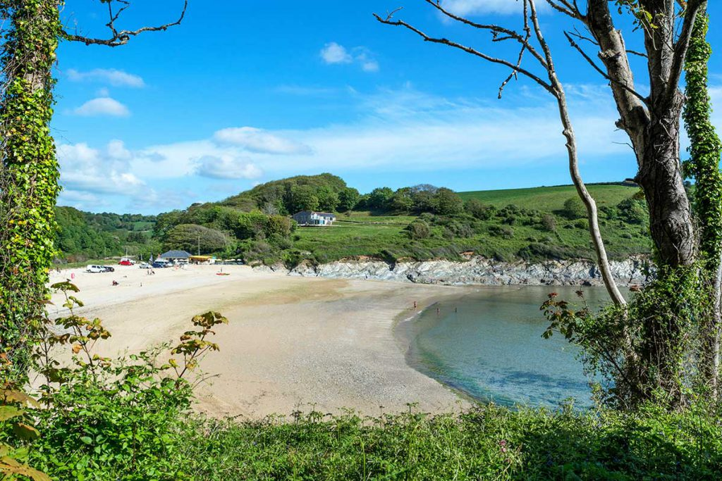 Beach near holiday cottages near Falmouth by Forever Cornwall