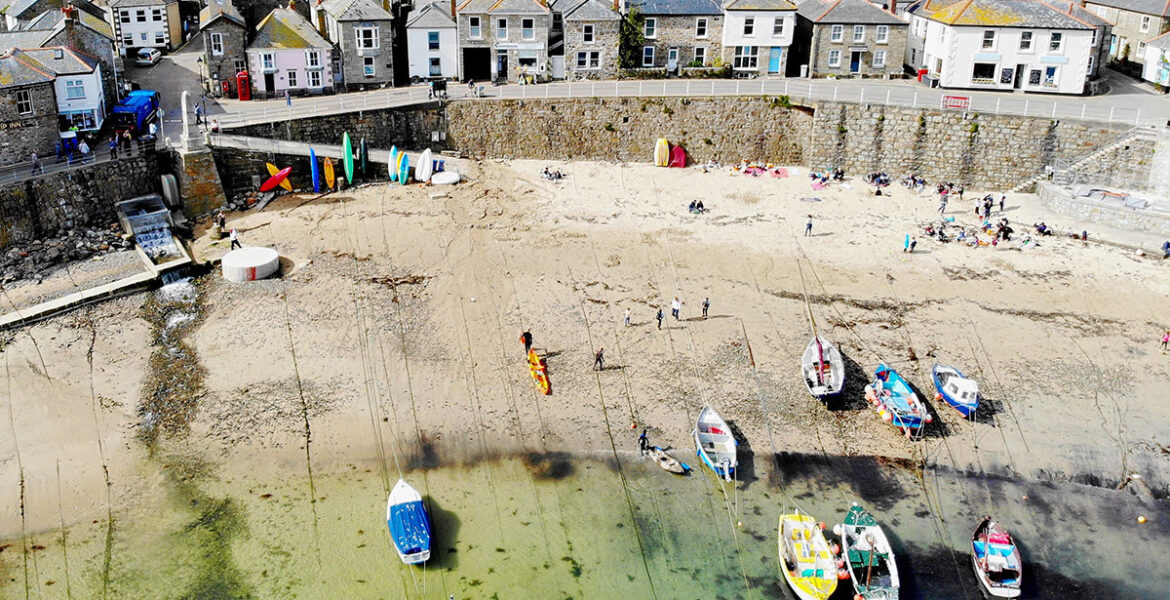 Harbour near holiday cottages in Mousehole by Forever Cornwall