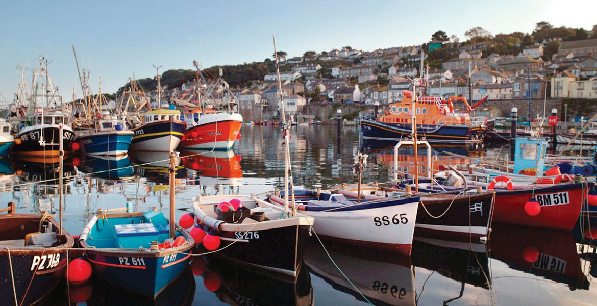 Harbour near Newlyn holiday cottages by Forever Cornwall