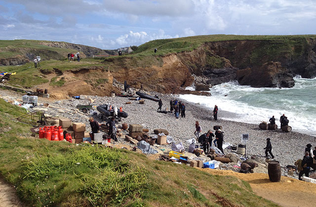 Poldark Film Set