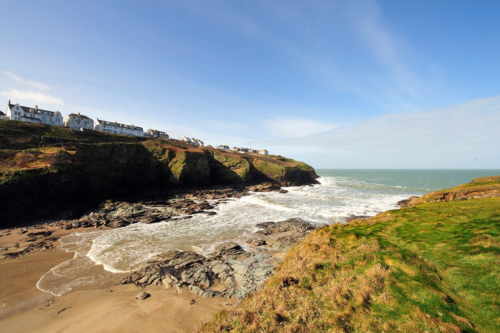 Port Gaverne Cove - near Forever Cornwall holiday cottages