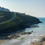 Small cove at Port Gaverne near holiday cottages by Forever Cornwall