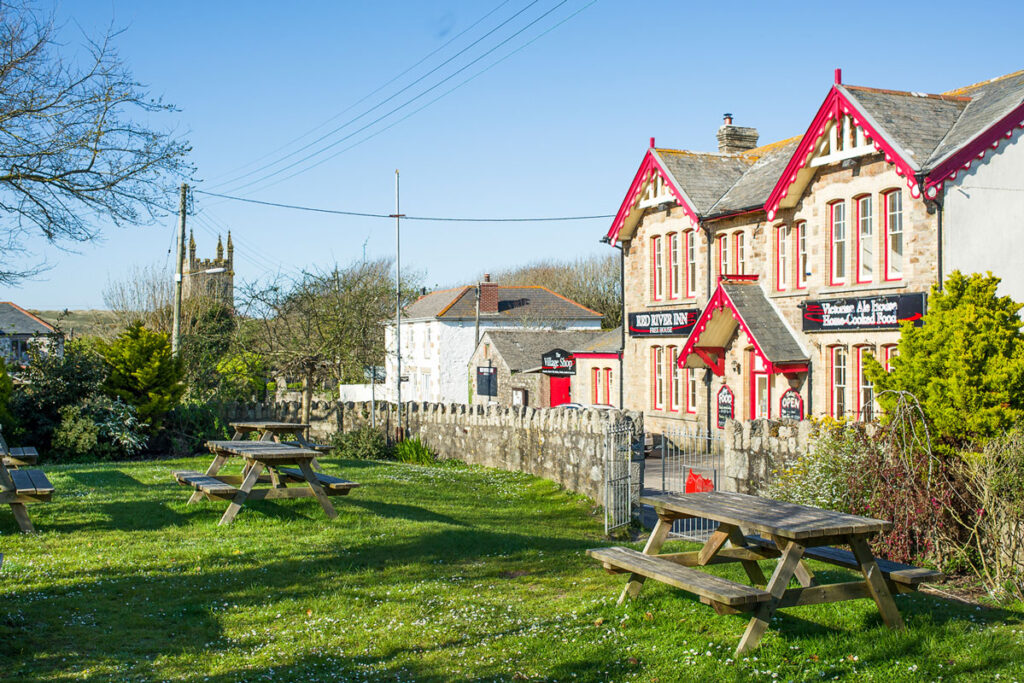Red River Inn Gwithian village - Forever Cornwall cottages
