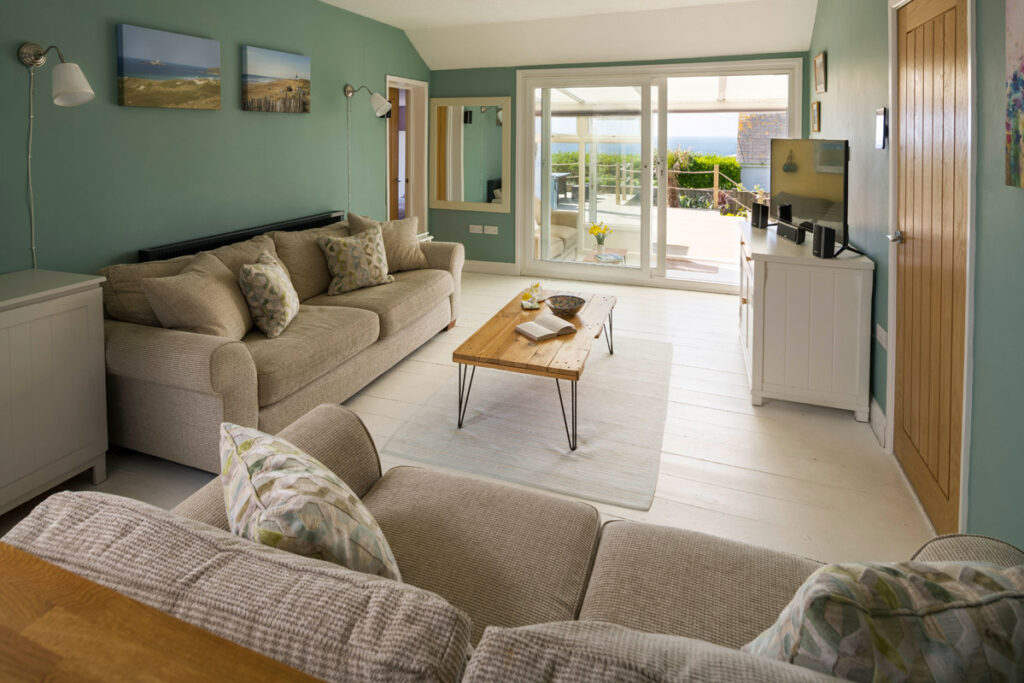 Interior of dog-friendly beach house Gwithian - Sauveterre Anglais by Forever Cornwall