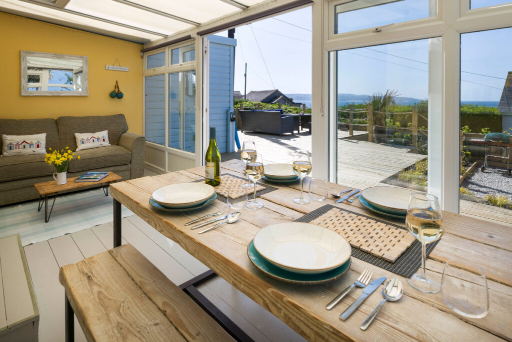 Inside dog-friendly beach house Gwithian - Sauveterre Anglais by Forever Cornwall