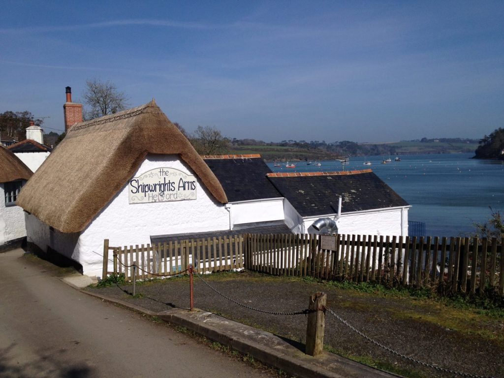 Pub near Helford River cottages by Forever Cornwall