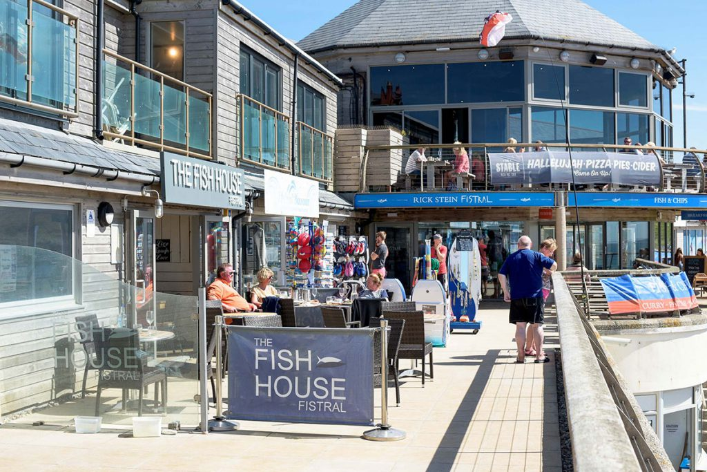Newquay restaurant near holiday cottages by Forever Cornwall