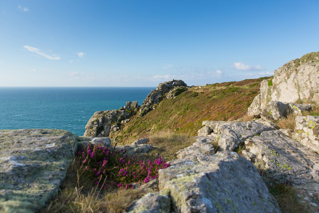 Zennor Head Promontory Cornwall England UK Near St Ives On The S