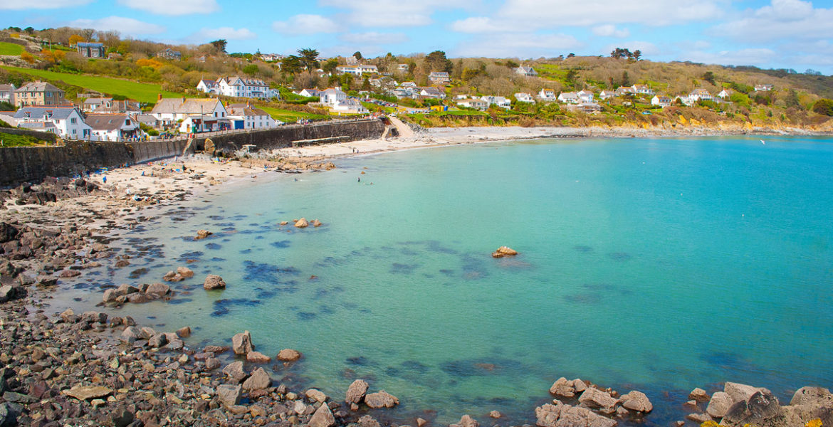 Cove near Coverack holiday cottages by Forever Cornwall