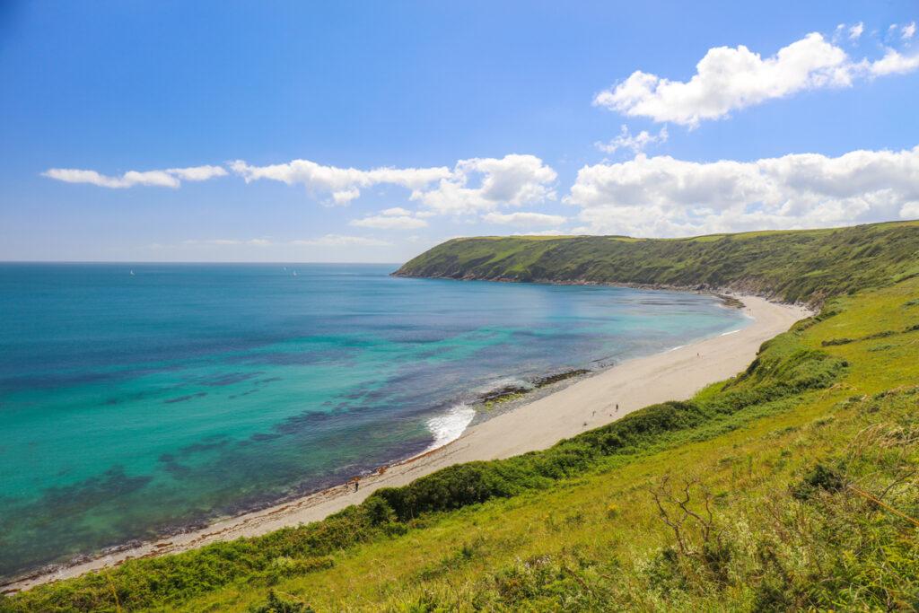 Vault beach, Roseland, Forever Cornwall