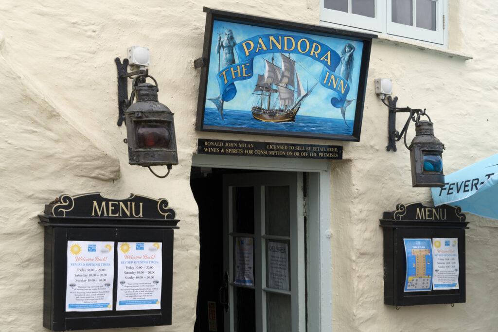 Pandora Inn River fal Falmouth Forever Cornwall