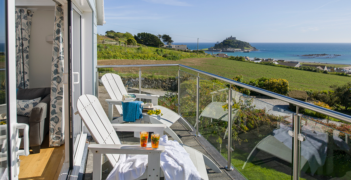 Balcony View of St Michaels Mount