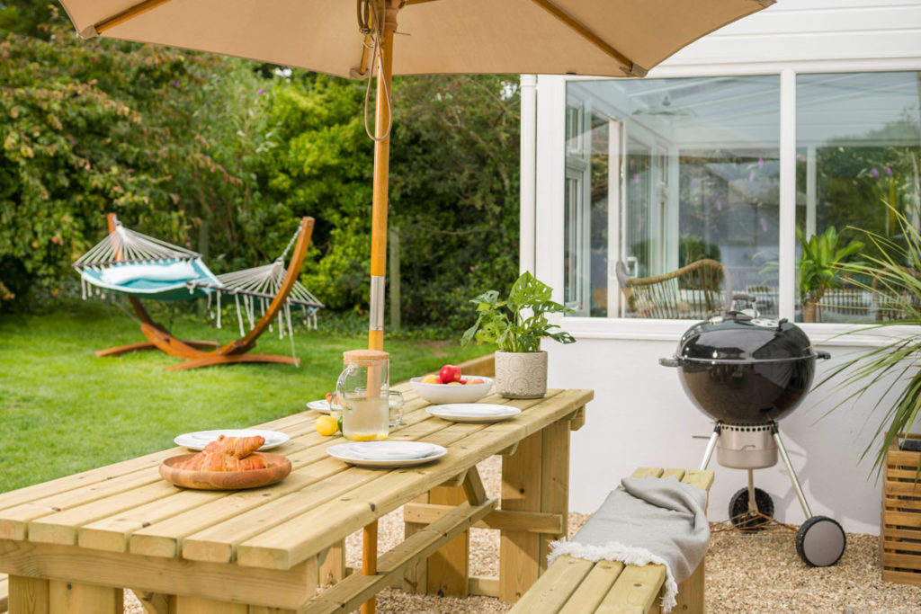 Castaway Cottage Forever Cornwall Outdoor Dining