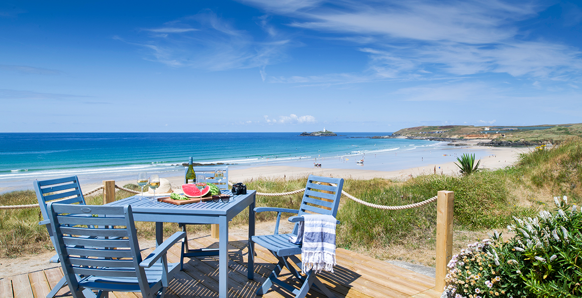 Cornwall accommodation with Sea Views