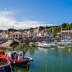Ferienhäusern In Den Verschiedenen Küstengebieten Cornwalls Padstow