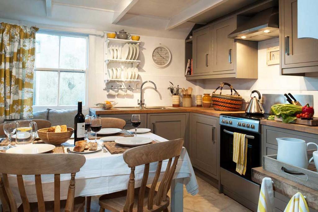 Forever Cornwall Artisan Cottage St Ives Kitchen