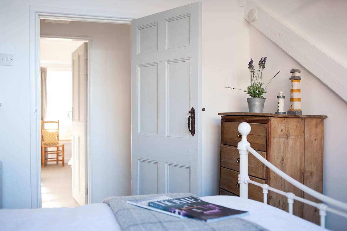 Forever Cornwall Artisan Cottage St Ives Master Bedroom Detail