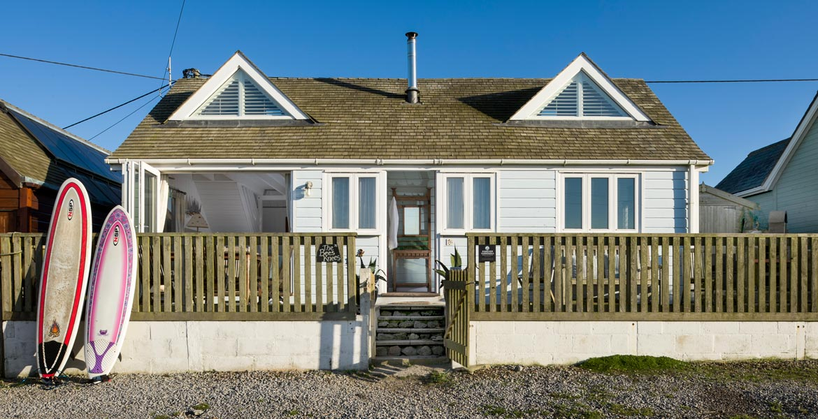 Forever Cornwall Bees Knees Beach Chalet Gwithian St Ives Bay Main