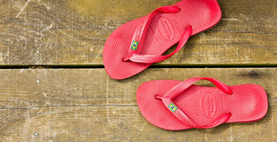 Forever Cornwall Bees Knees Gwithian St Ives Bay Flip Flops