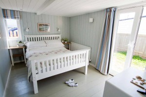 Forever Cornwall Driftwood Beach Chalet Gwithian St Ives Bay Master Bedroom