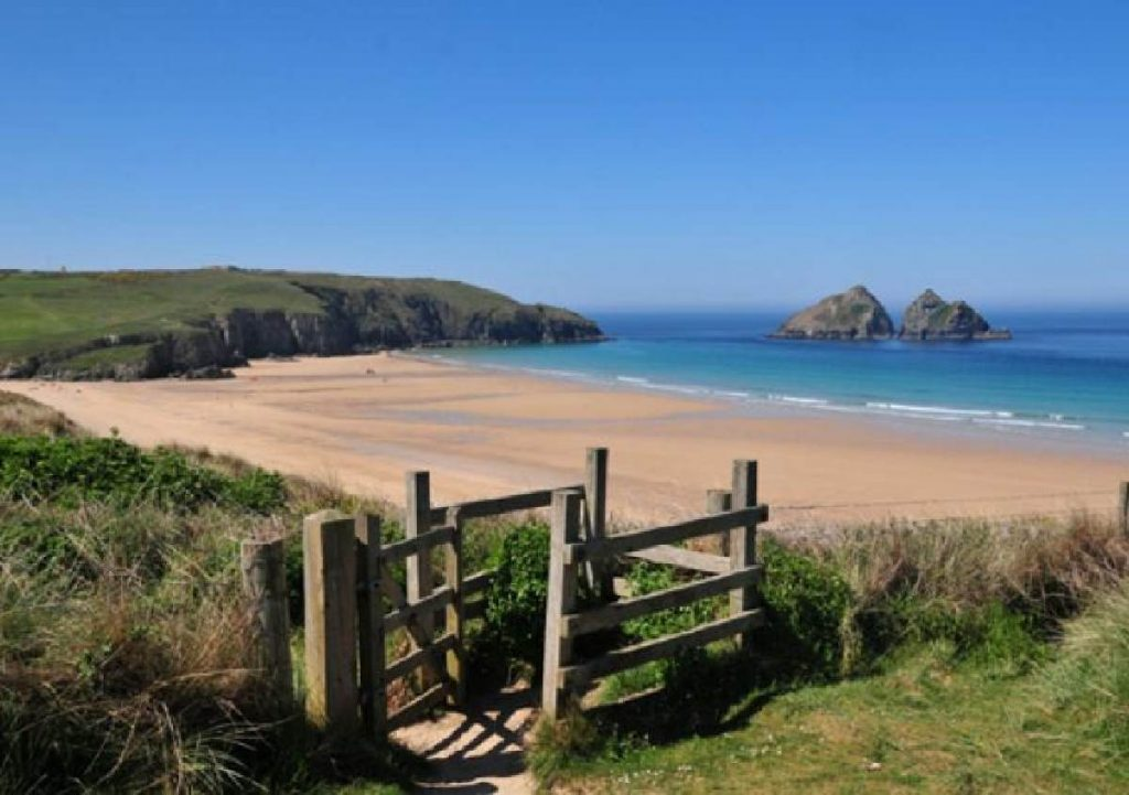 Forever Cornwall Holywell Bay