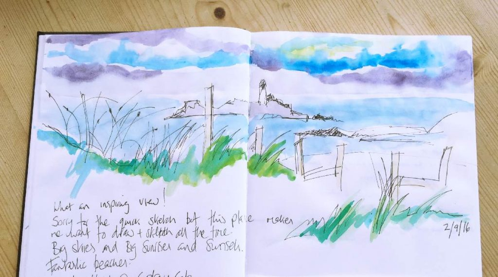 Forever Cornwall Lighouse View Comment September 2016