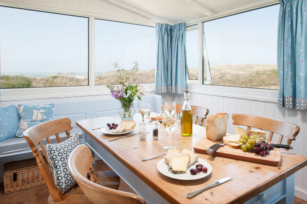 Forever Cornwall Lighthouse View Beach Chalet Gwithian St Ives Bay 15