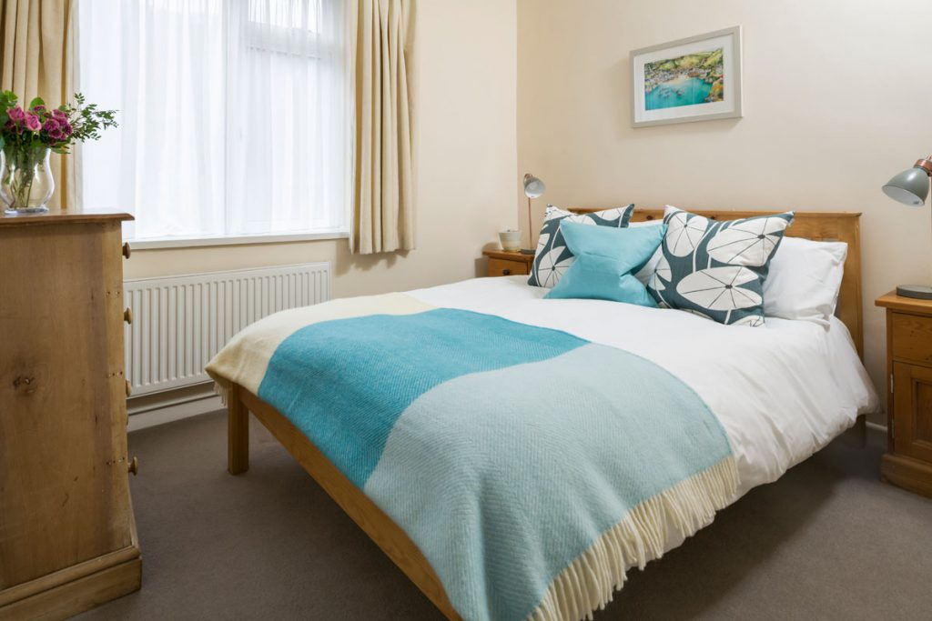 Bedroom at Marigold Cottage Port Gaverne by Forever Cornwall