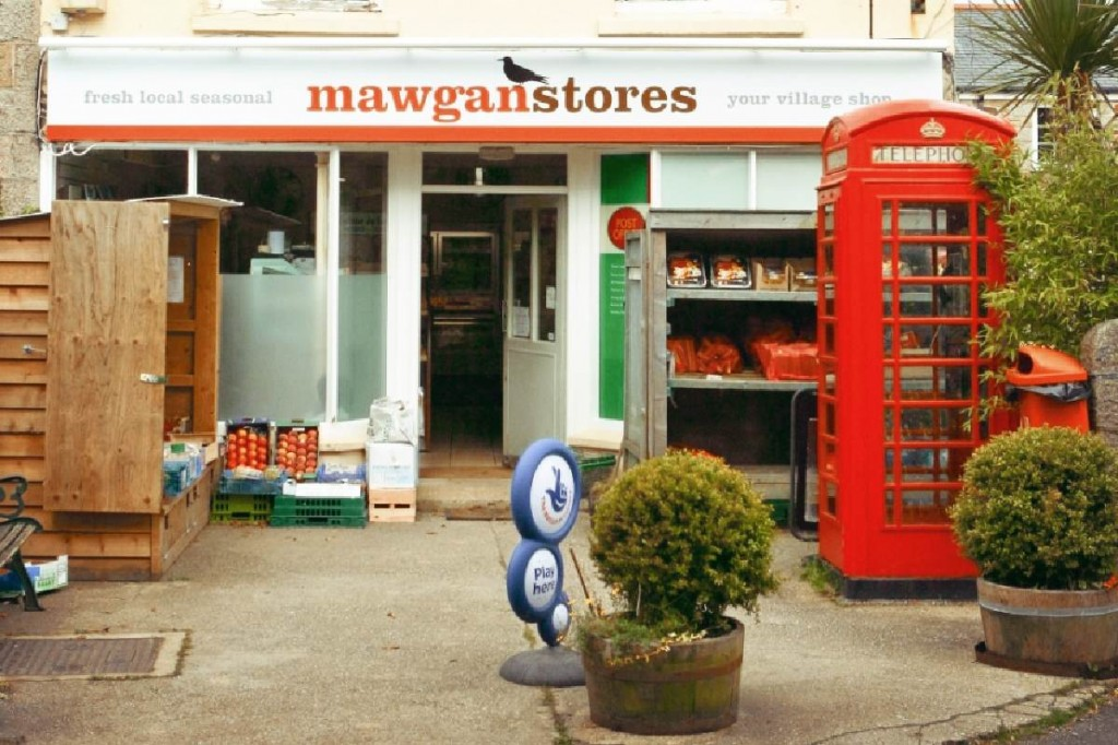 Forever Cornwall Mawgan Stores Shop Front