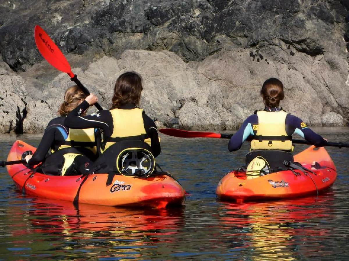 Forever Cornwall Mullion Kayaking