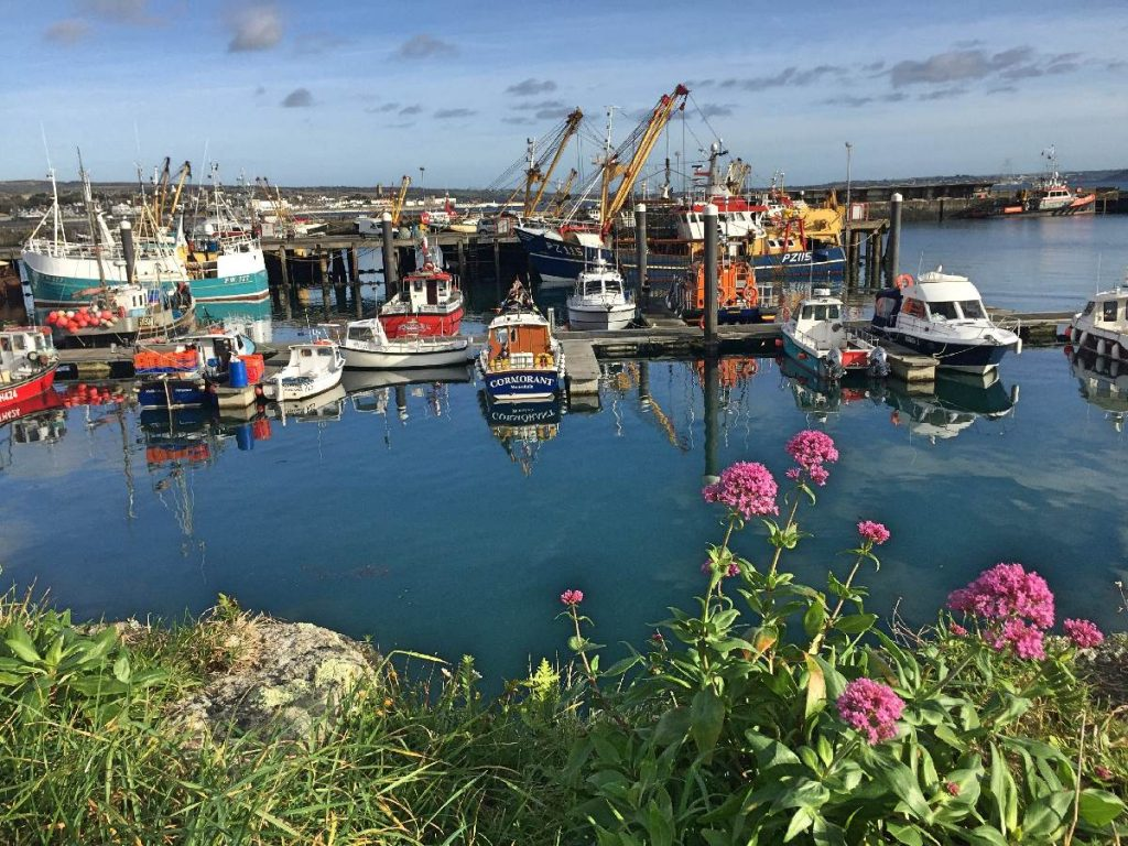 Forever Cornwall Newlyn Harbour November