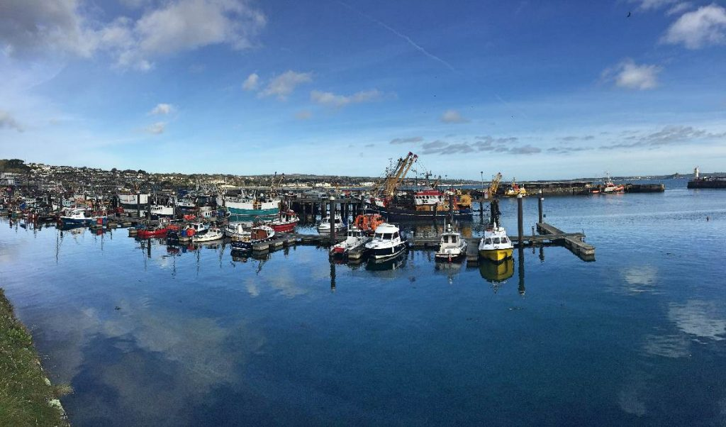 Forever Cornwall Newlyn Harbour Pano