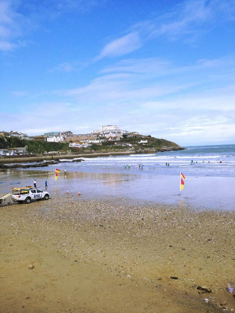 Forever Cornwall Newquay Towan Beach