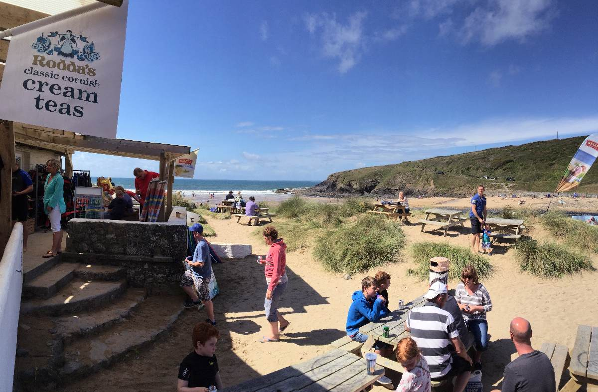Forever Cornwall Poldhu Cafe Beach Landscape